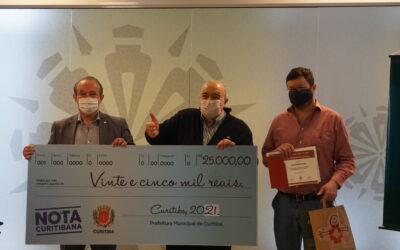 Amigos do HC recebem R$ 25 mil pela indicação de entidade premiada no Programa Nota Curitibana